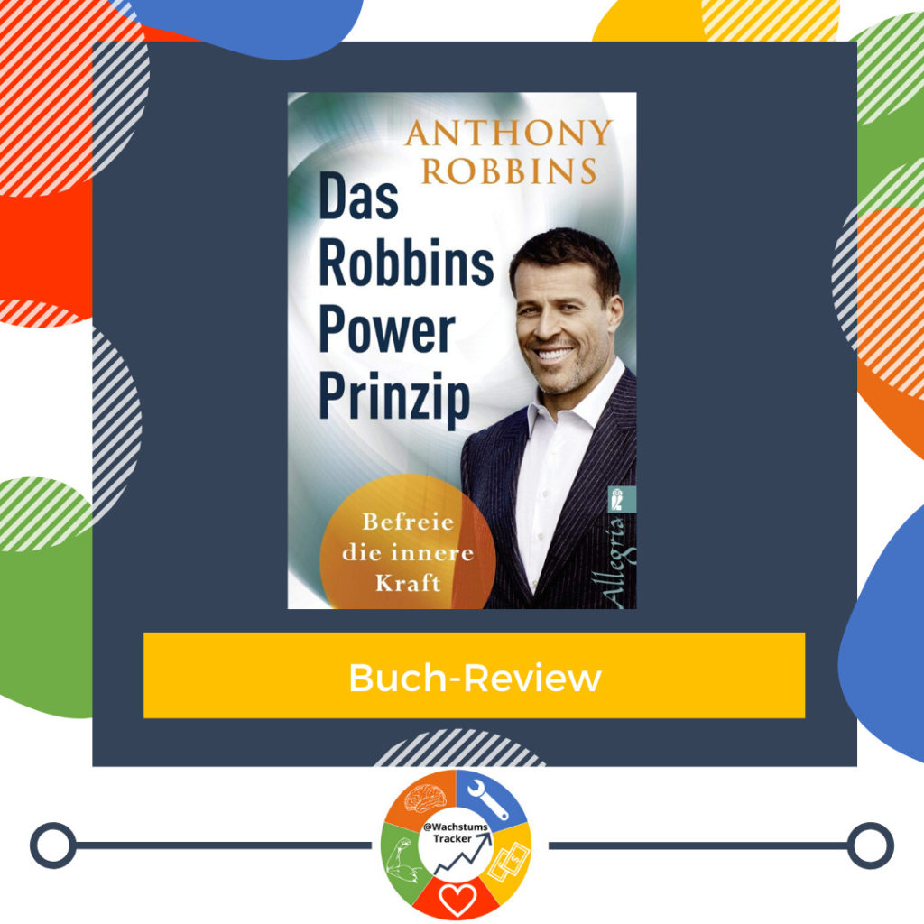 Buch-Review - Das Robbins Power Prinzip - Anthony Robbins - Cover
