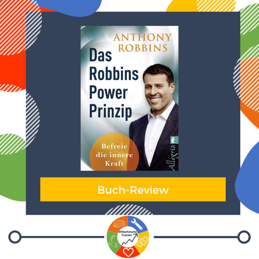 Buch-Review - Das Robbins Power Prinzip - Anthony Robbins - Cover