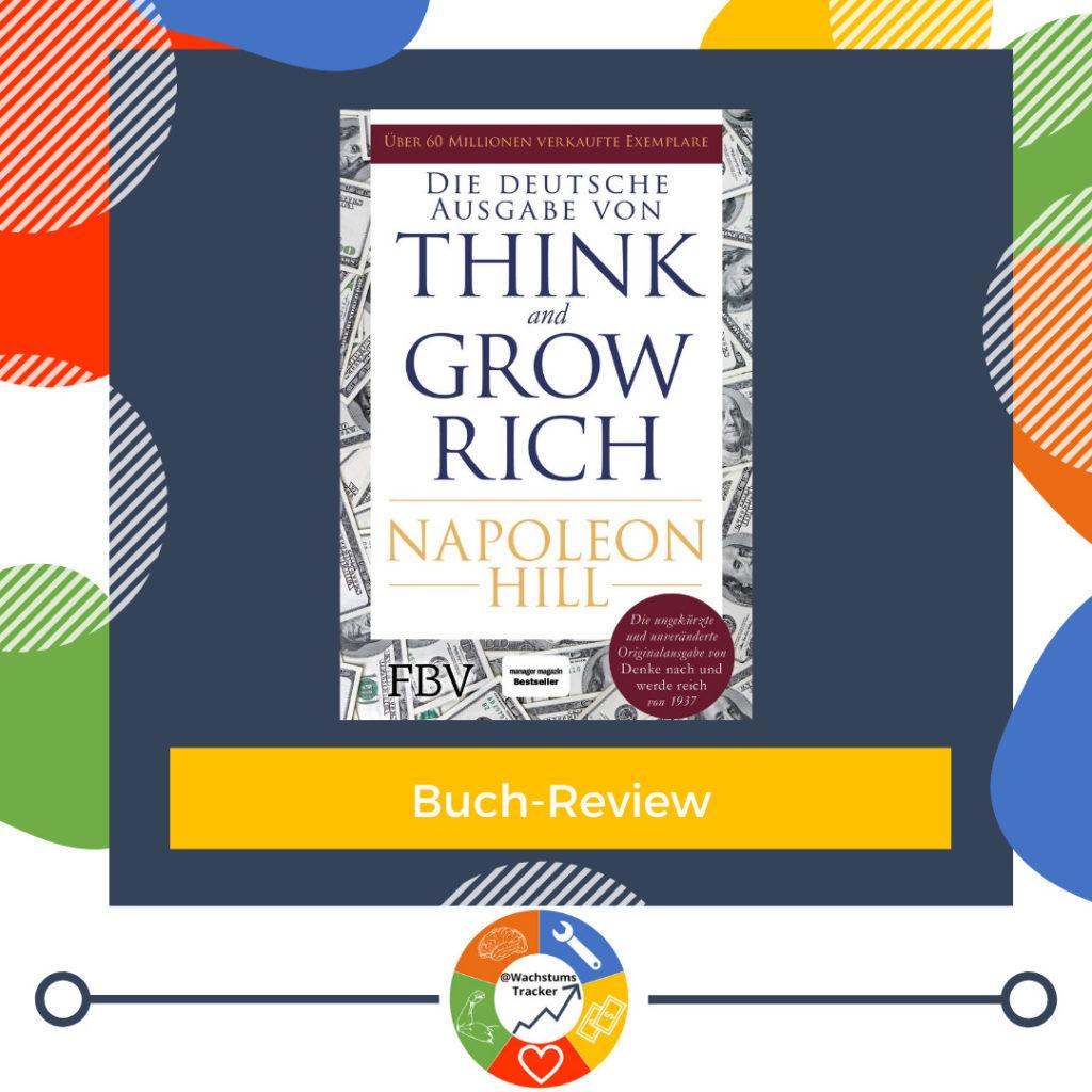 Buch-Review - Denke nach und werde reich - Napoleon Hill - Cover