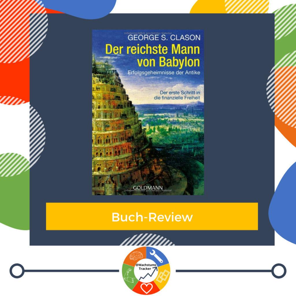 Buch-Review - Der reichste Mann von Babylon - George S. Clason - Cover