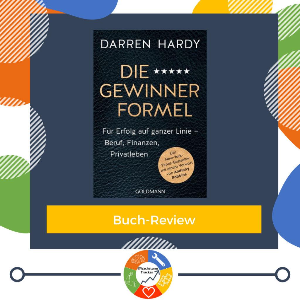 Buch-Review - Die Gewinner Formel - Darren Hardy - Cover