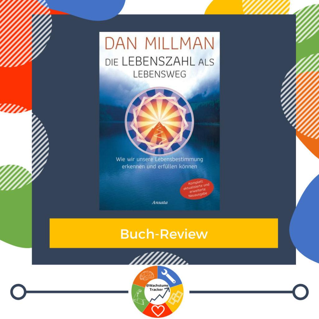 Buch-Review - Die Lebenszahl als Lebensweg - Dan Millman - Cover
