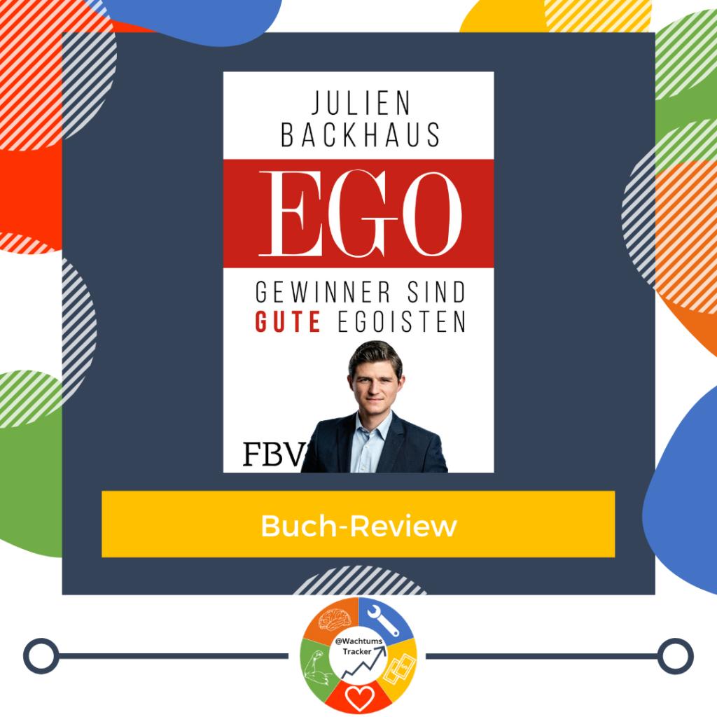 Buch-Review - EGO - Julien Backhaus - Cover