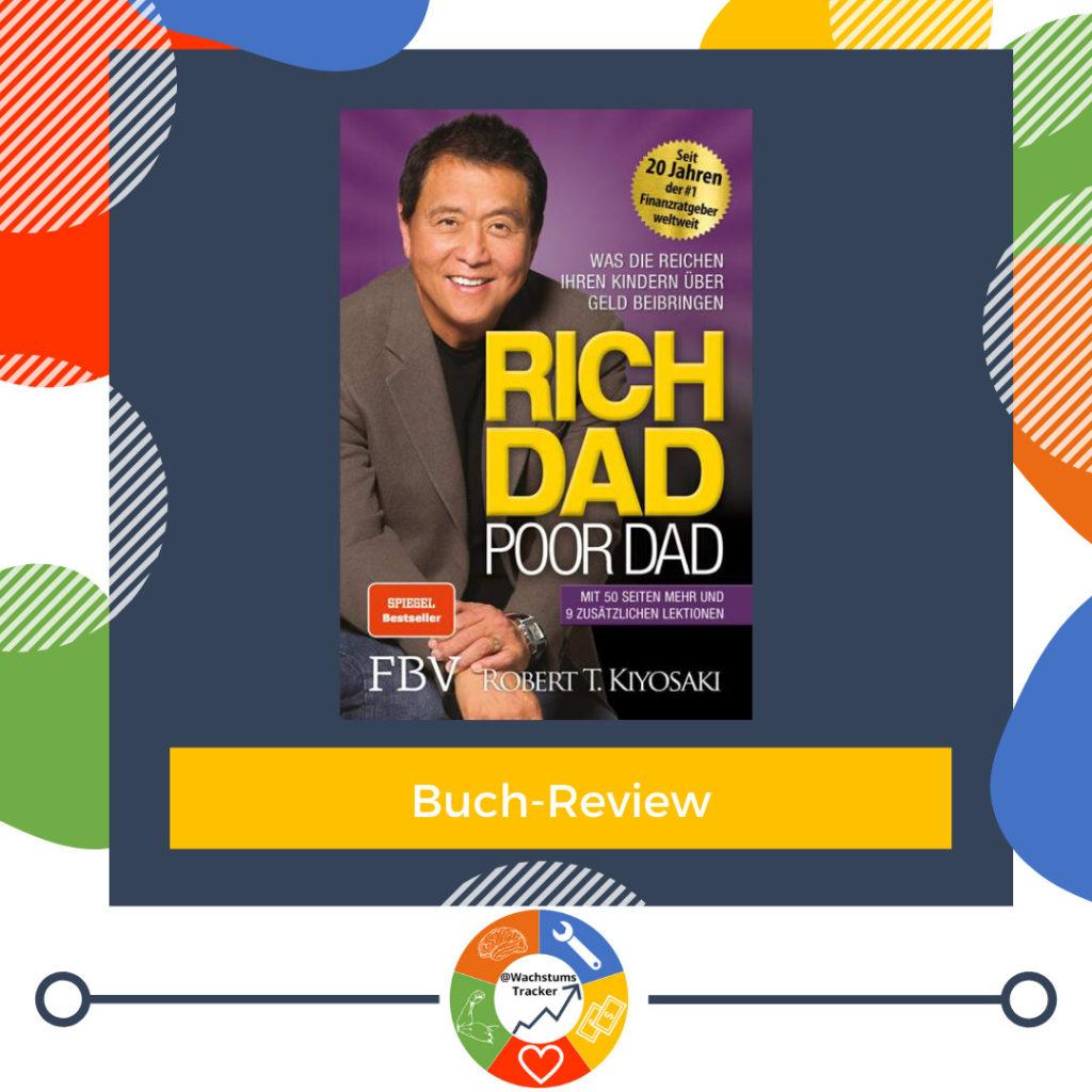 Buch-Review - Rich Dad Poor Dad - Robert Kiyosaki - Cover