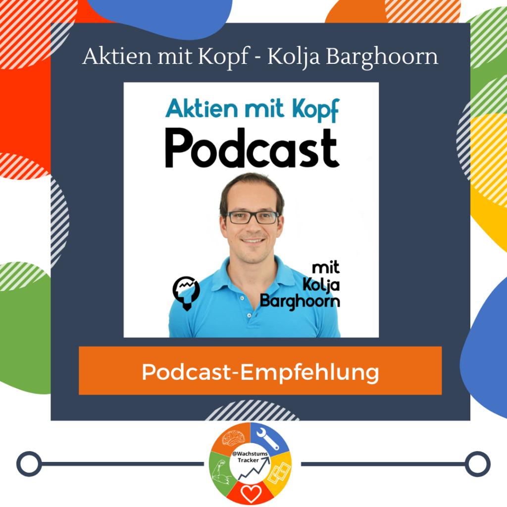 Podcast-Empfehlung - Aktien mit Kopf Podcast - Kolja Barghoorn - Cover