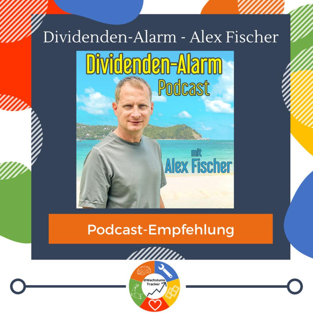 Podcast-Empfehlung - Dividenden-Alarm Podcast - Alex Fischer - Cover