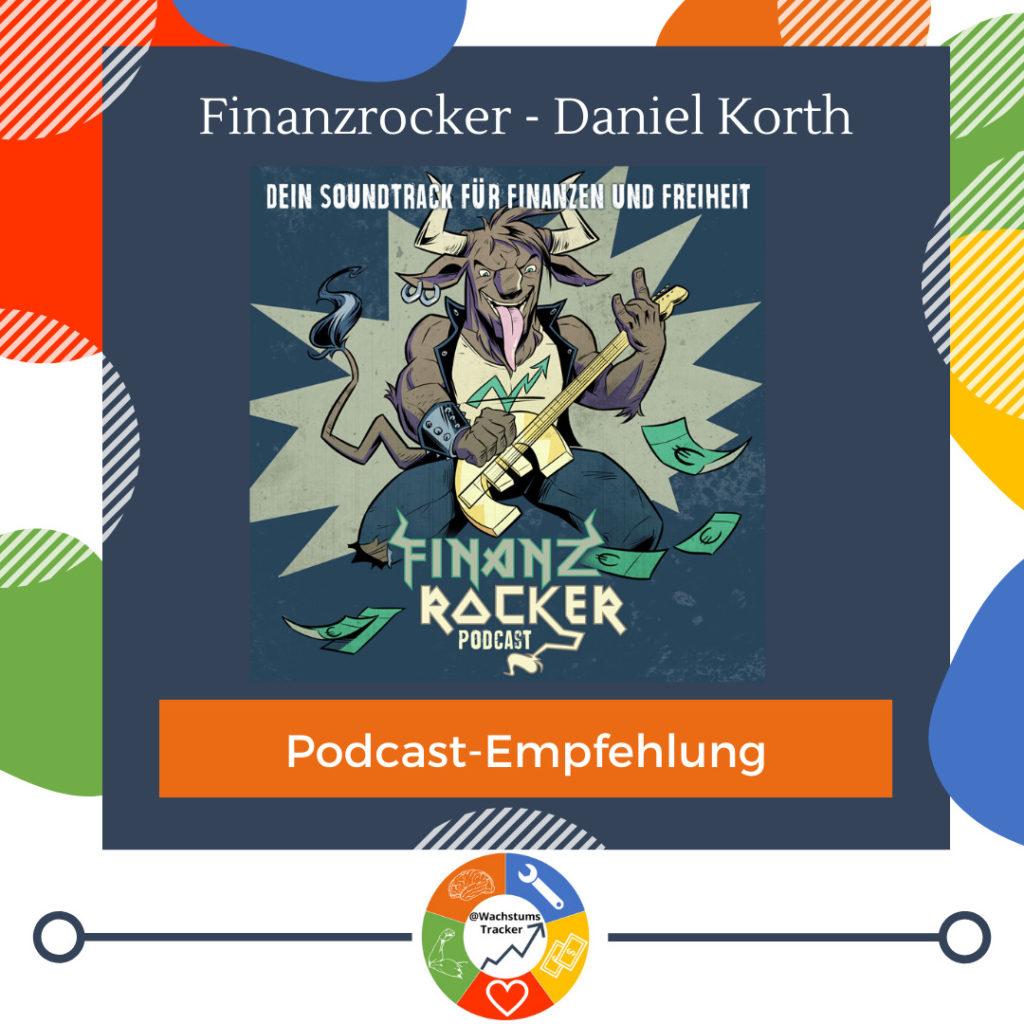 Podcast-Empfehlung - Finanzrocker-Podcast - Daniel Korth - Cover
