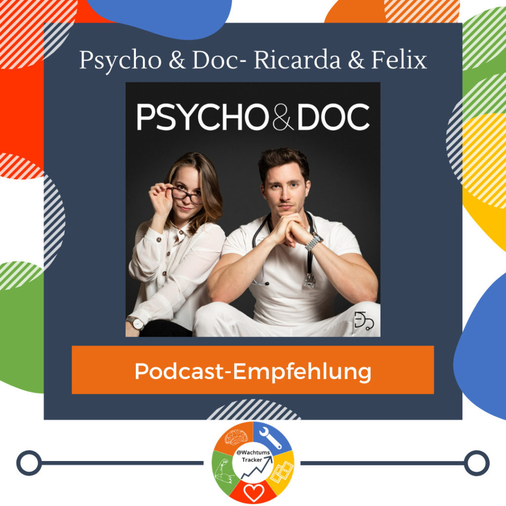 Podcast-Empfehlung - Psycho & Doc - Ricarda & Felix - Cover