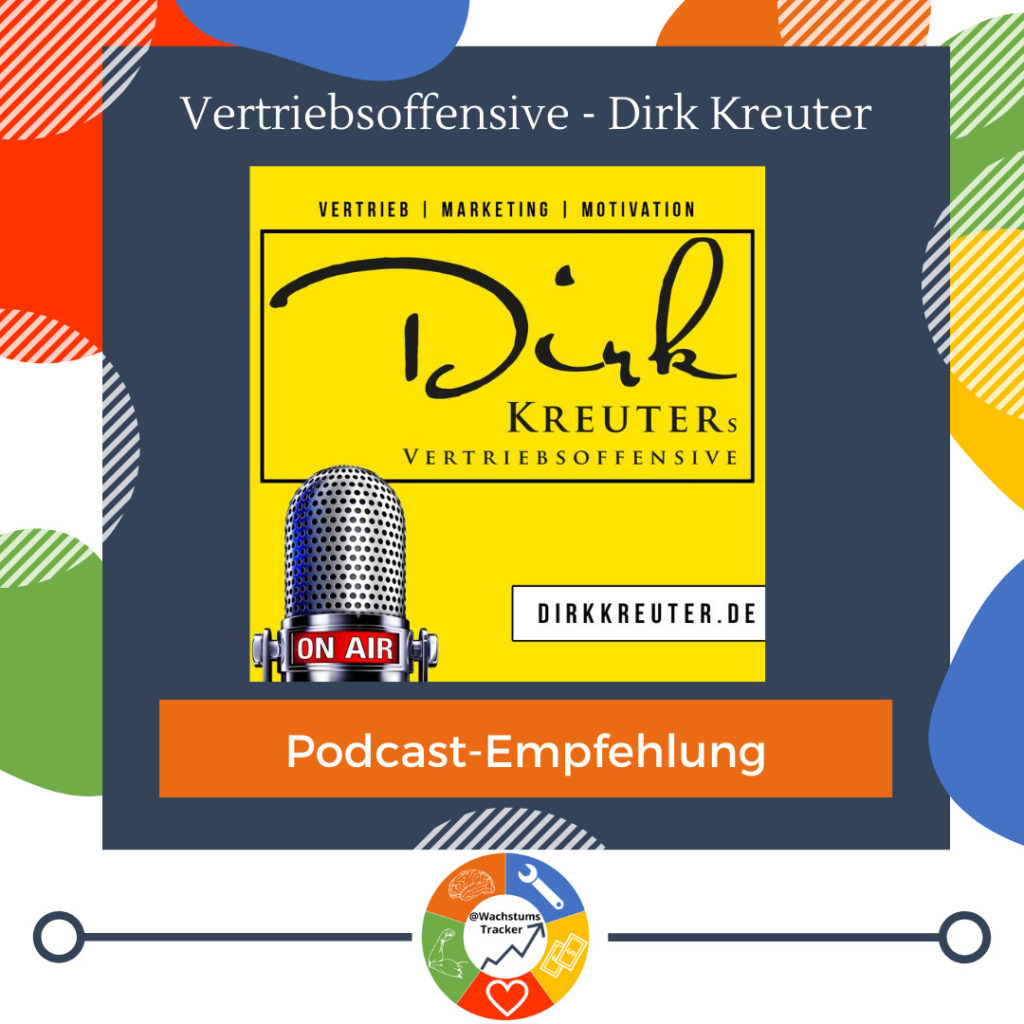Podcast-Empfehlung - Vertriebsoffensive Podcast - Dirk Kreuter - Cover