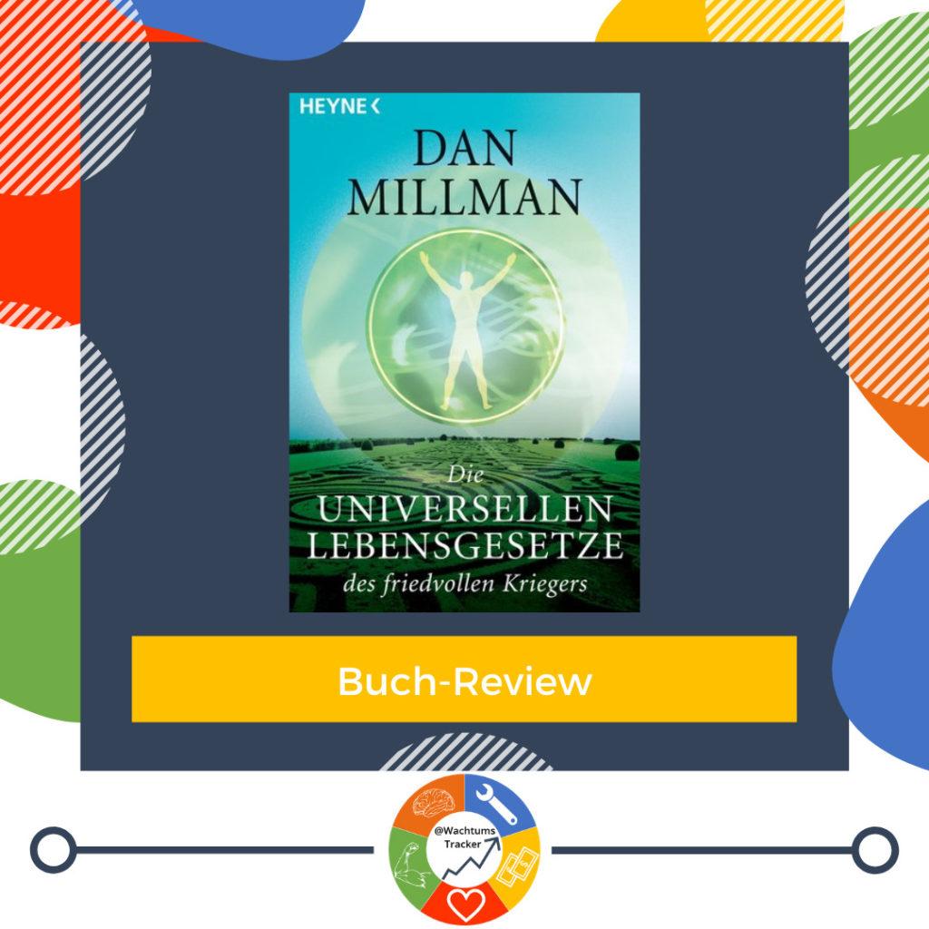 Buch-Review - Die universellen Lebensgesetze des friedvollen Kriegers - Dan Millman - Cover
