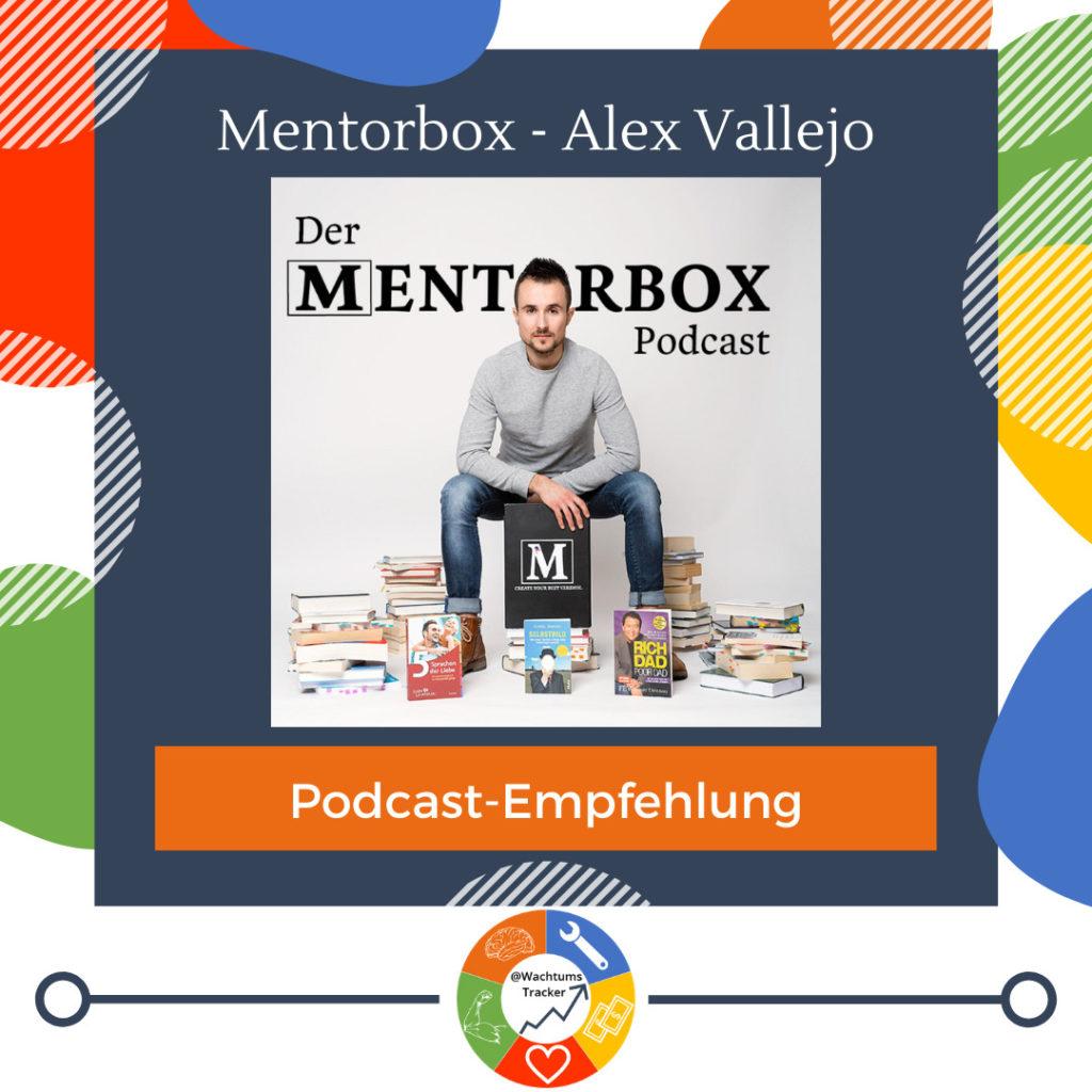 Podcast-Empfehlung - Der Mentorbox Podcast - Alejandro Vallejo - Cover