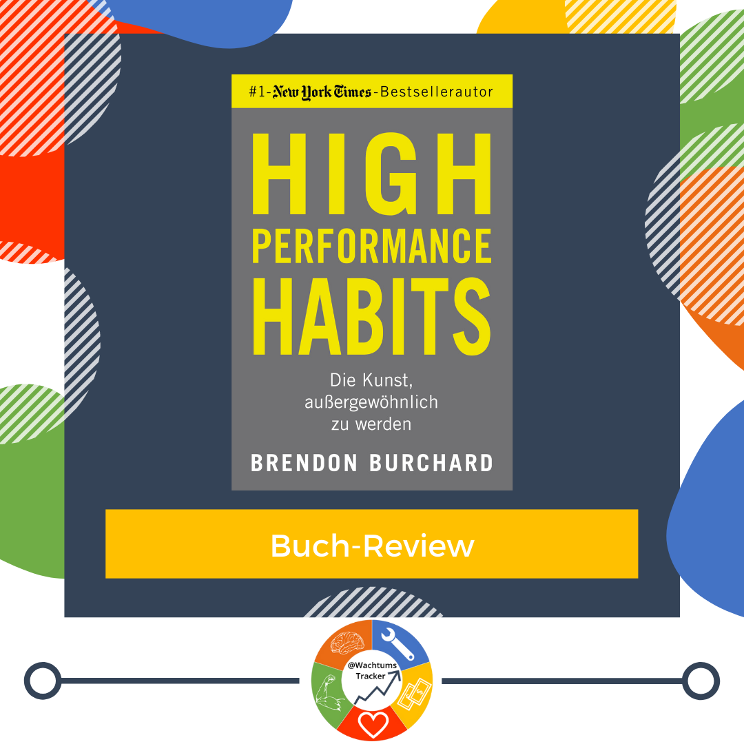Buch-Review - High Performance Habits - Brendon Burchard - Cover