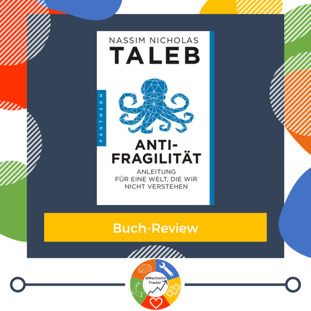 Buch-Review - Antifragilität - Nassim Nicholas Taleb - Cover