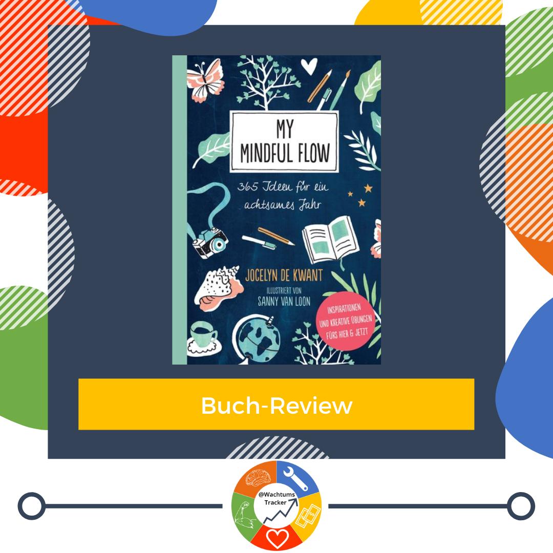Buch-Review - My Mindful Flow - Jocelyn de Kwant - Cover